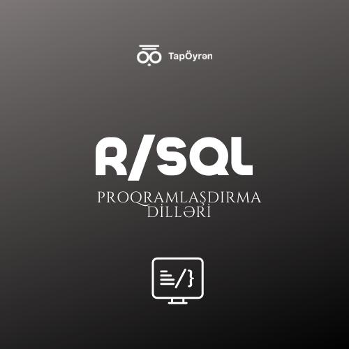 """""""R"""" və SQL proqramlaşdırma dilləri"""